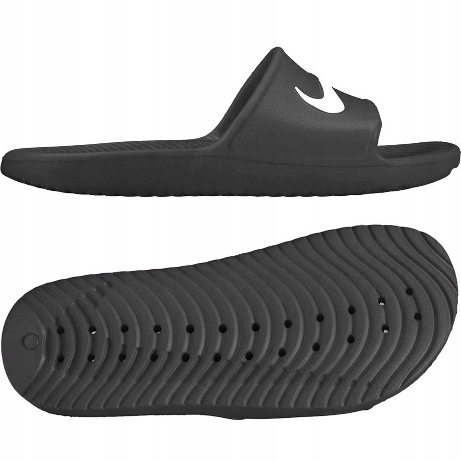 Klapki męskie Nike Kawa Shower 832528 001 : - 38,