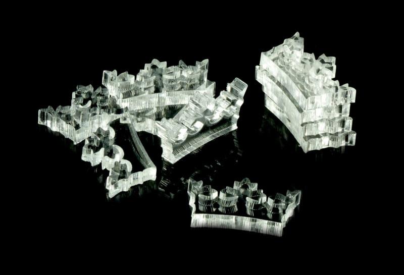 Crafters: Znaczniki akrylowe - Transparentne - Ksz
