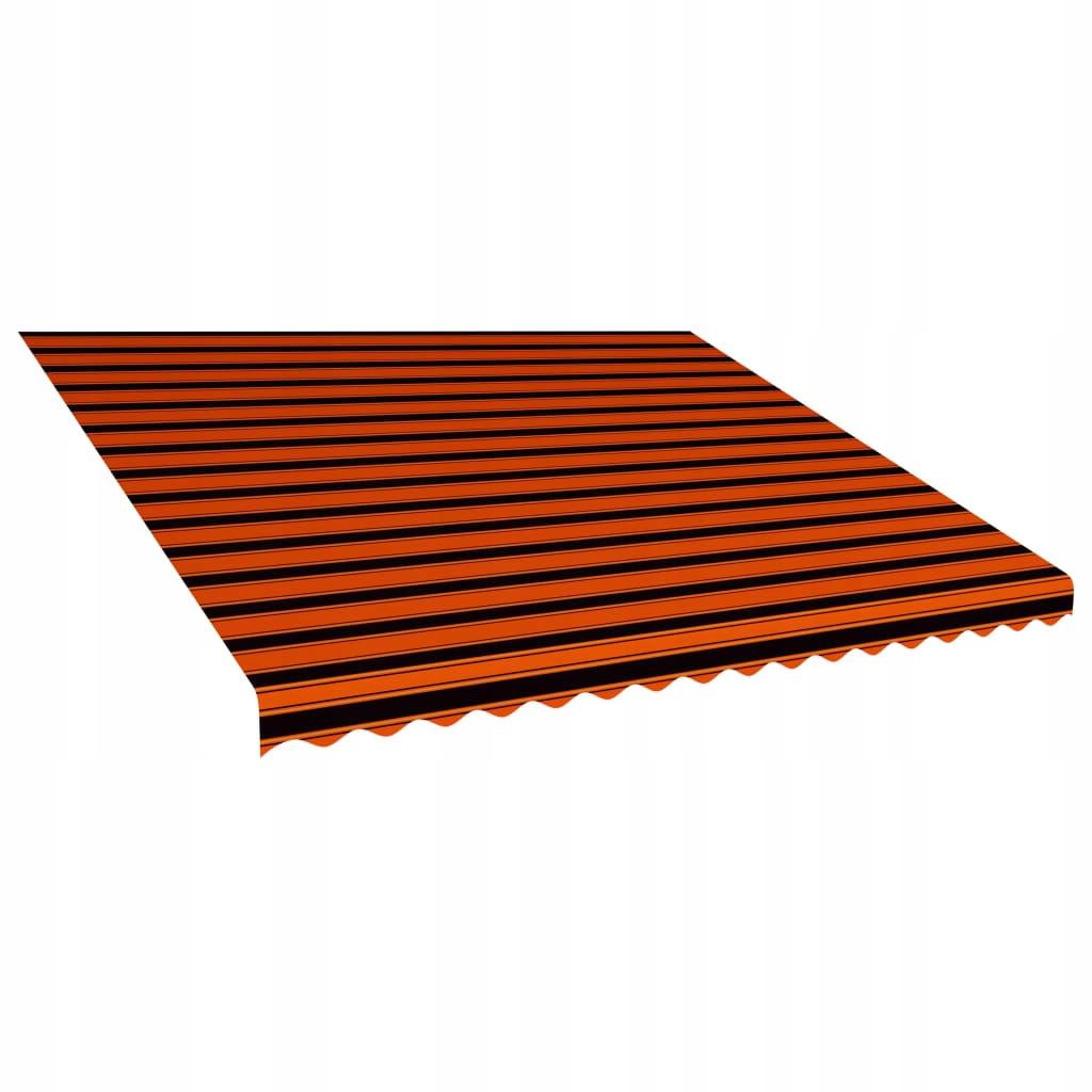 Tkanina do markizy, pomarańczowo-brązowa, 400 x 30