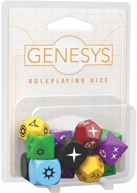 Genesys RPG Dice Pack - Zestaw Kości