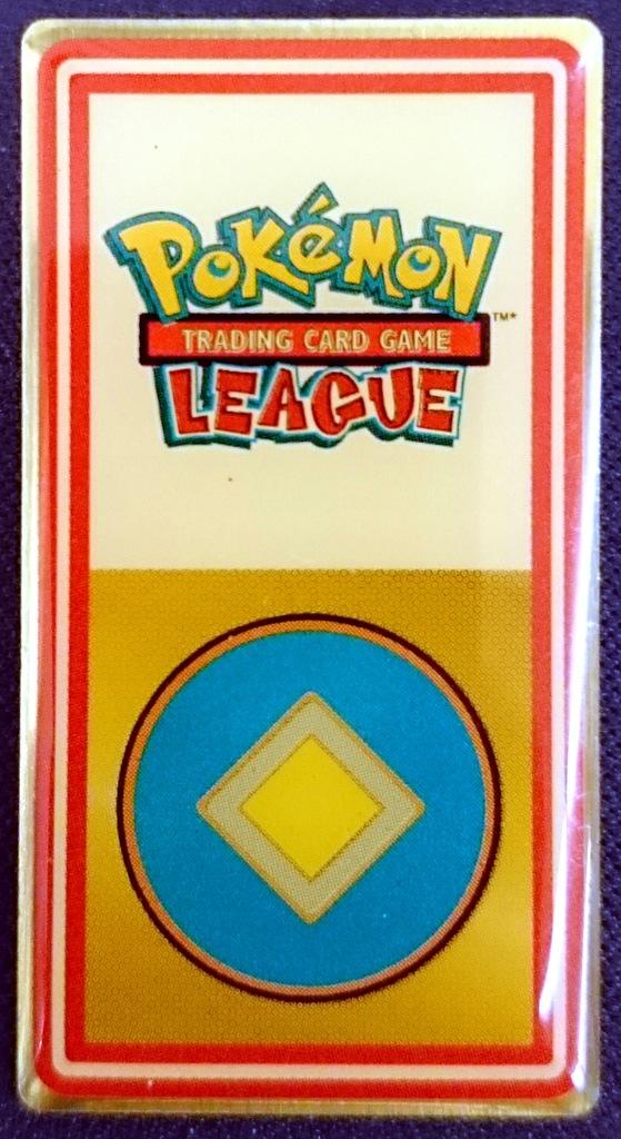 POKEMON TCG Johto League Plain Badge Goldenrod Cit