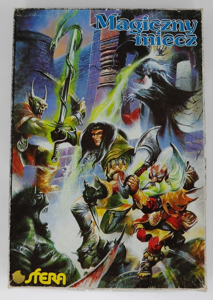 Magiczny Miecz Jak Magia I Miecz Sfera Kompletny 8553236158 Oficjalne Archiwum Allegro