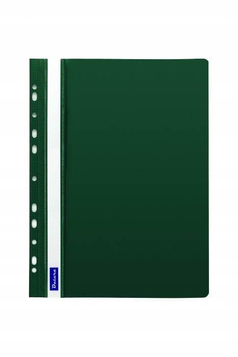 Skoroszyt zawieszany zielony A4 twardy 1 sztuka