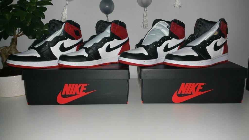 Air Jordan 1 Black Toe Satin