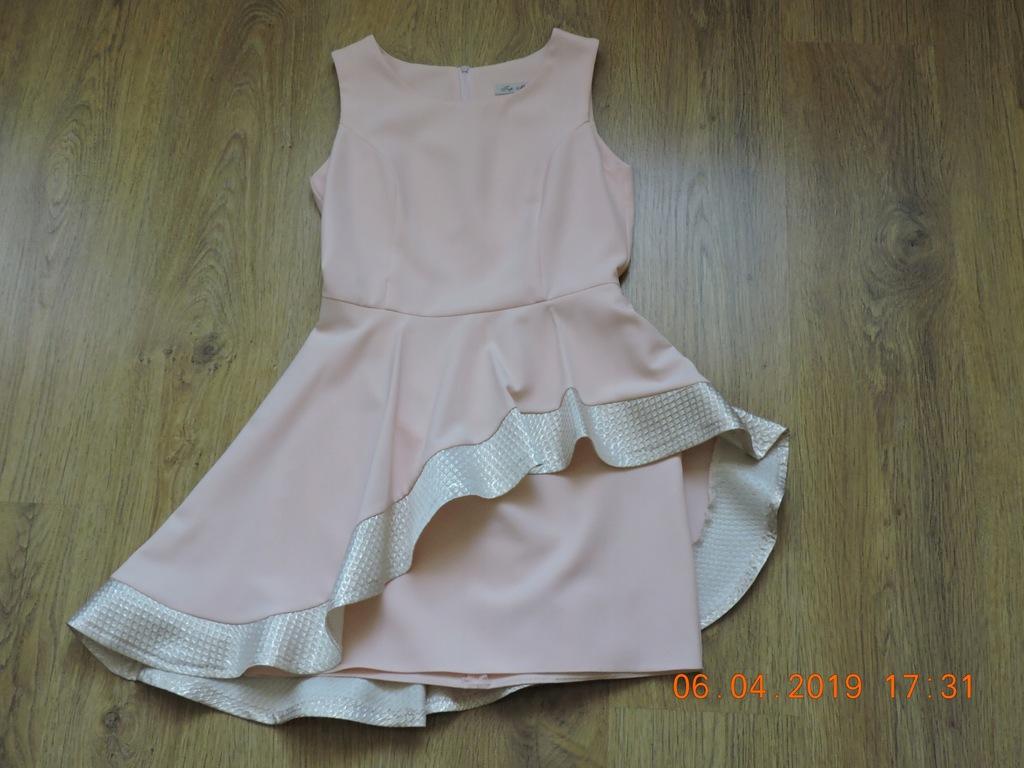 Sukienka Rozmiar 38 Asymetryczna Top Moda Kamila 8005875751 Oficjalne Archiwum Allegro