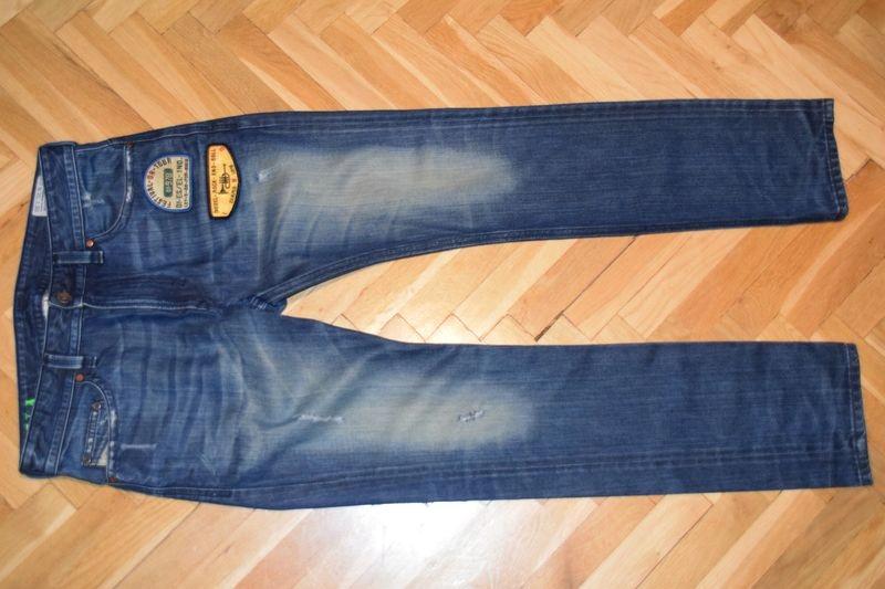 DIESEL THAVAR SLIM męskie spodnie jeansowe 31/30