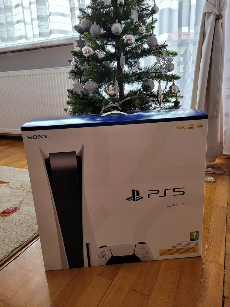 PS5 Playstation 5 z napędem konsola