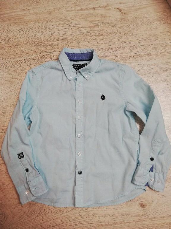 C&A piękna jasnoniebieska koszula 122