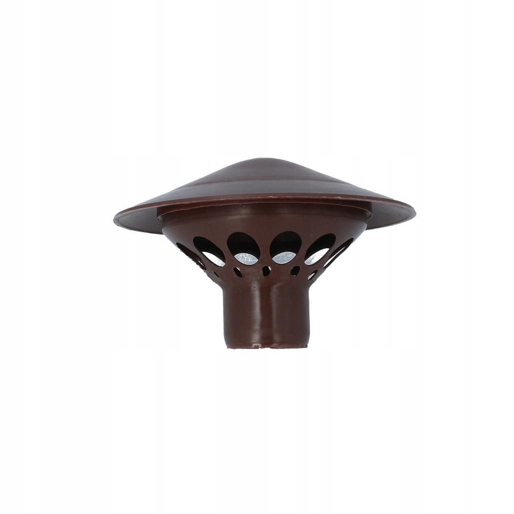 Kominek kanalizacyjny rury PCV PP 50 brązowy
