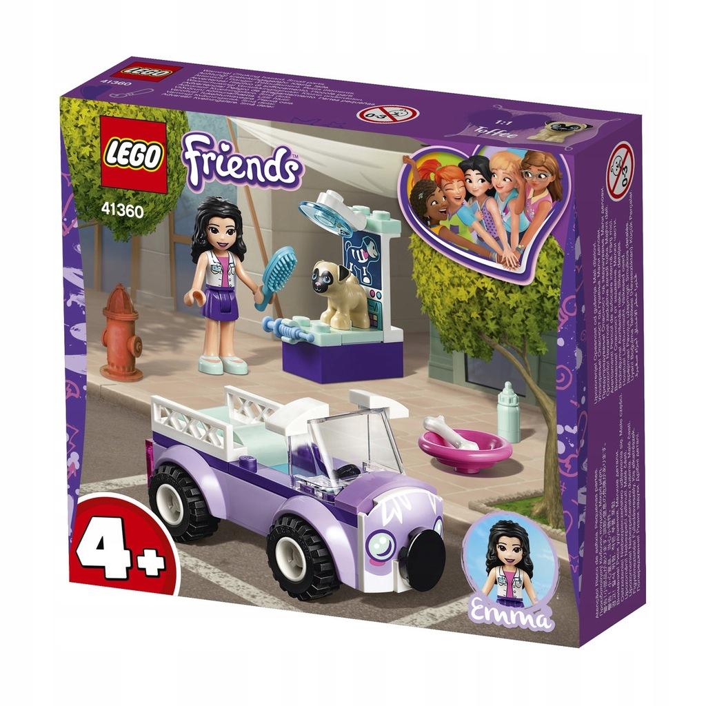 LEGO FRIENDS Mobilna klinika Emmy 41360