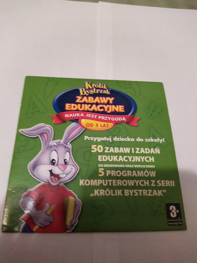 Królik Bystrzak Zabawy Edukacyjne