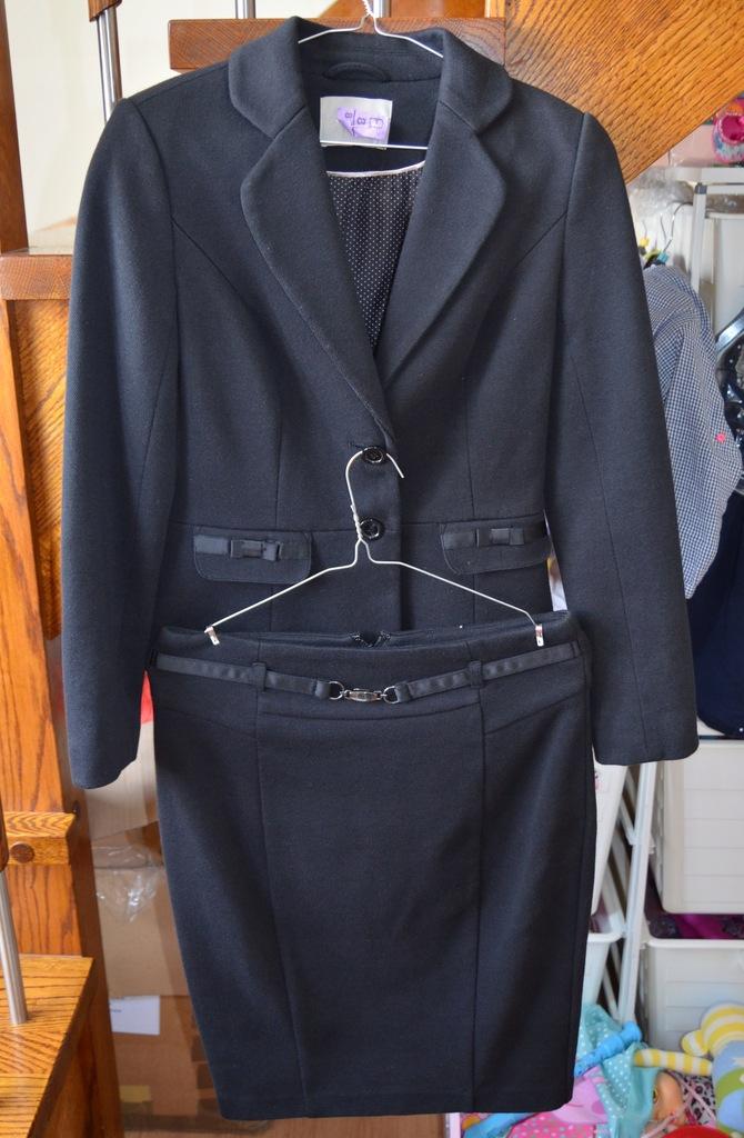 Marynarka żakiet + spódnica kostium Reserved S 36