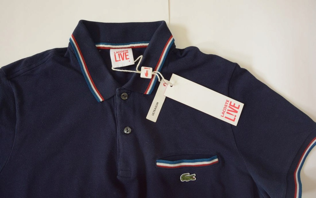 POLO LACOSTE LIVE! 4 M ORYGINAL !!!