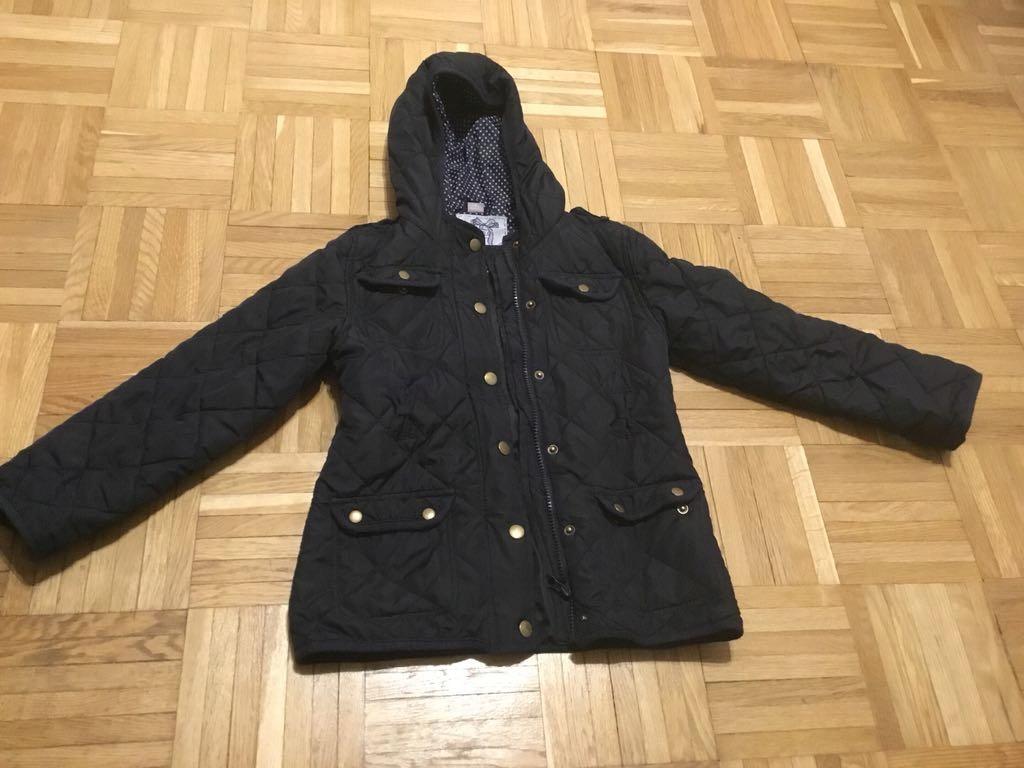 Przejściowa kurtka pikowana r.7-8 lat