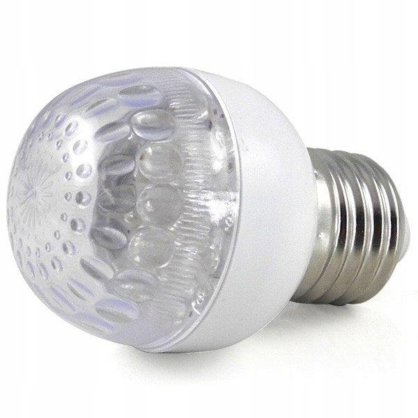 Żarówka LED E27 1w=8w AC 100V - 240V niebies MENGS