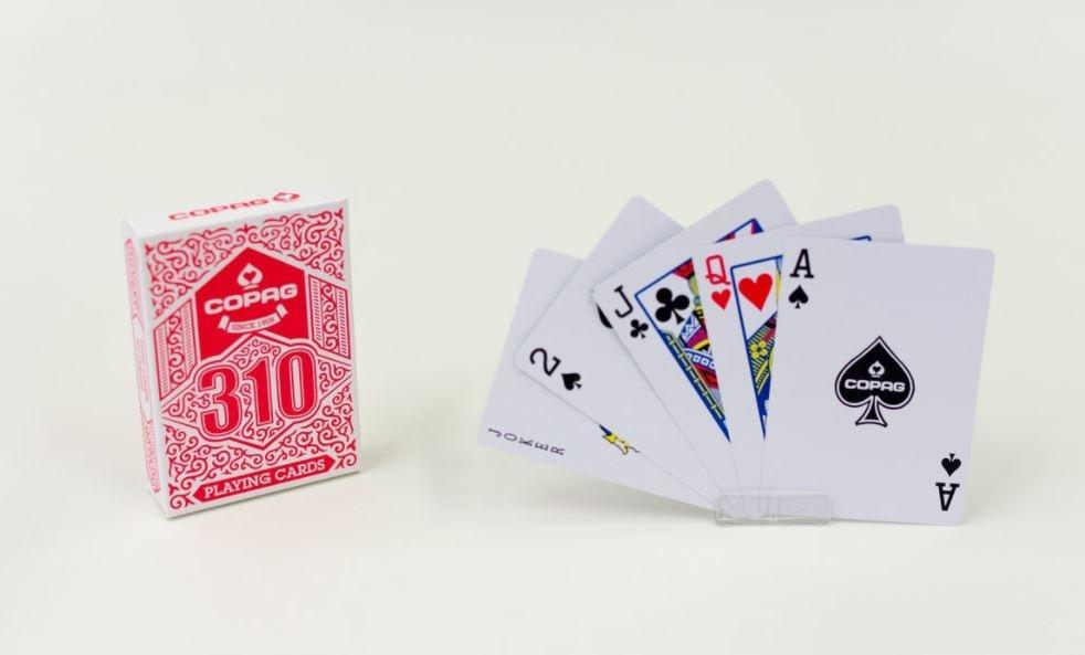 Karty Copag 310 Czerwona
