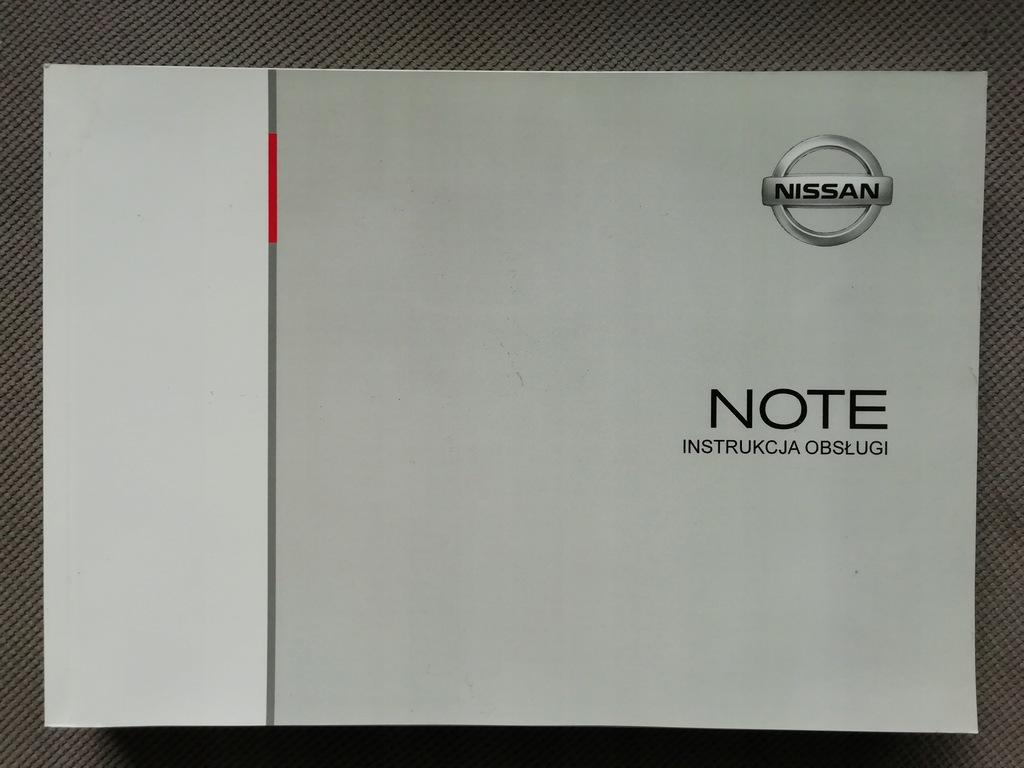 Nissan Note Instrukcja Obsługi