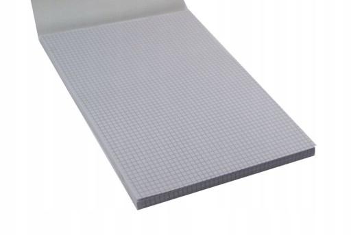 Blok biurowy notatnik w kratkę A4 50 kartek
