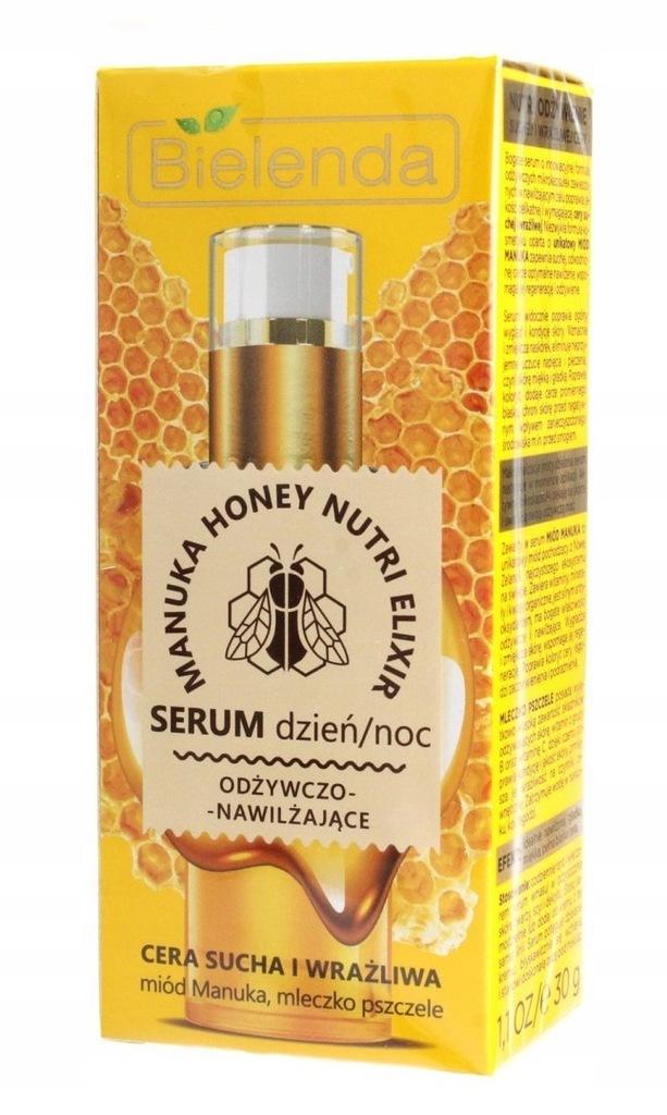 BIELENDA Manuka Honey Nutri Elixir Serum odżywczo-