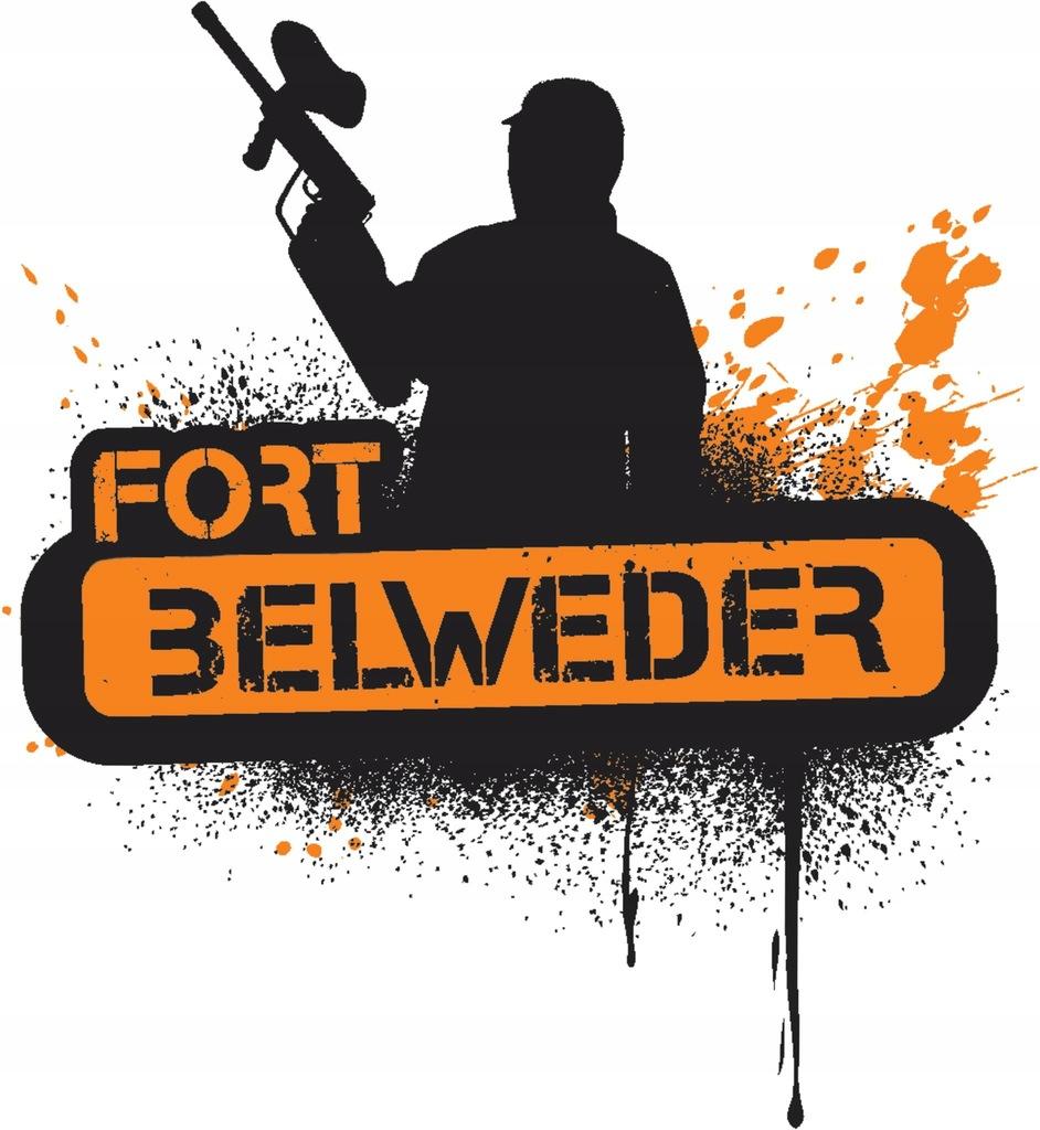 Impreza Paintball Fort Belweder dla 10 osób