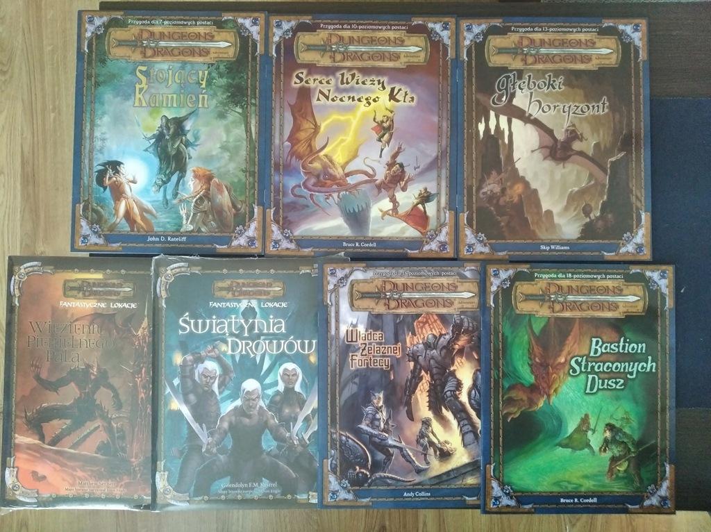 Dungeons and Dragons 3.0/3.5 kolekcja scenariuszy