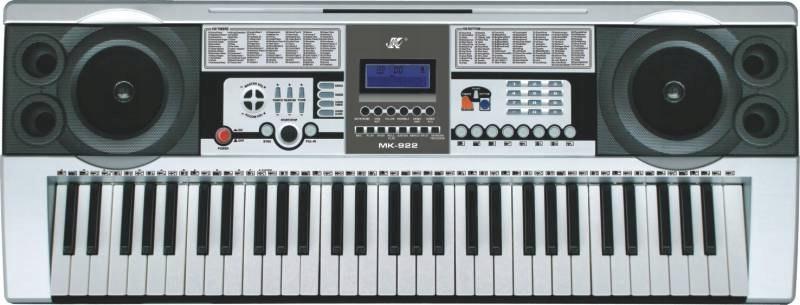 Keyboard MK-922 - duży wyświetlacz LCD, 61 klawisz