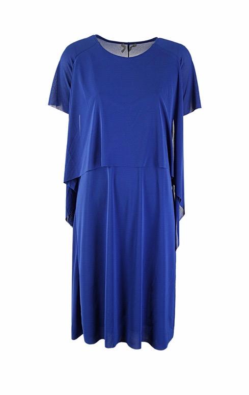 COS elegancka Sukienka z falbankami S M