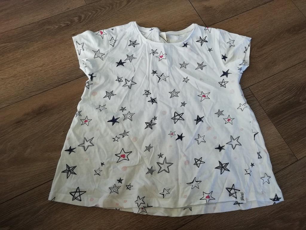 zara sukienka w gwiazdki 110