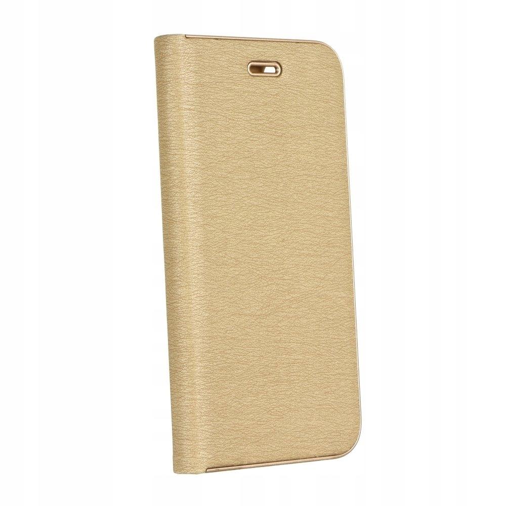 Kabura Luna Book Samsung S9 Plus złoty