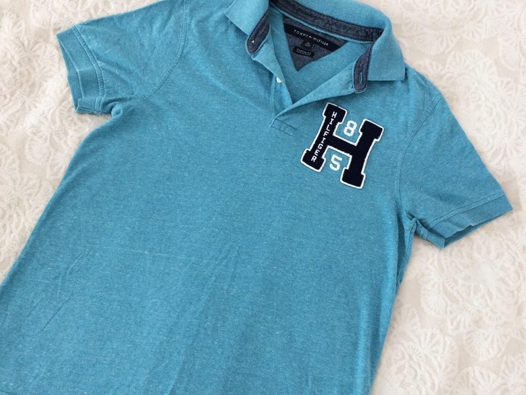Koszulka polo tommy hilfiger r.XS dla chłopca