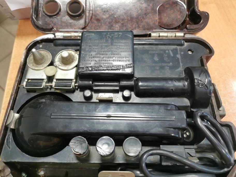 Telefon polowy TAG-57 wojskowy [101]
