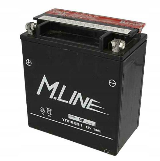 Akumulator YTX16-BS-1 YTX16BS YTX16BS1 14Ah 14 Ah