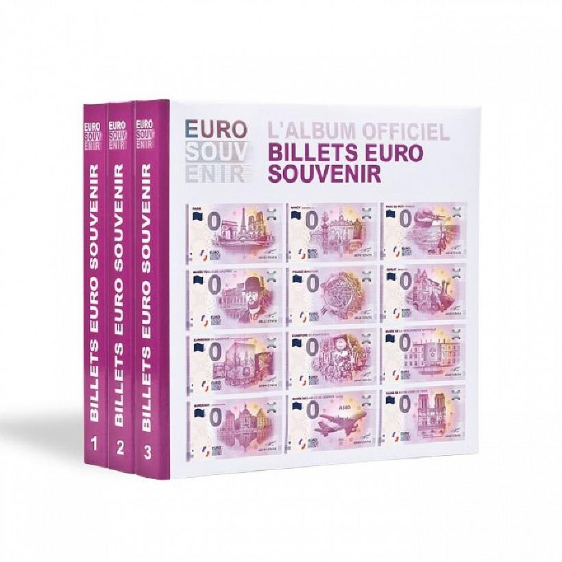 Leuchtturm - Albumy na banknoty 0 Euro 2015 - 2017