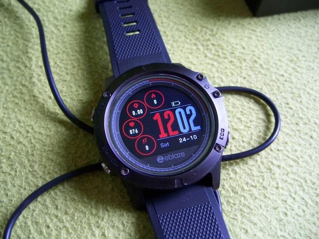 Smartwatch ZEBLAZE VIBE 3 ECG - Android/IOS - EKG!