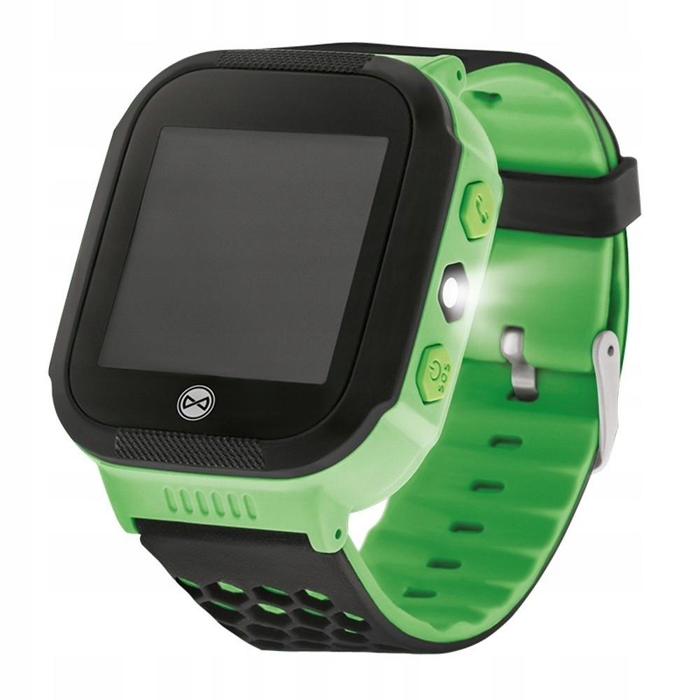Zegarek GPS kids Forever Find Me KW-200 zielony