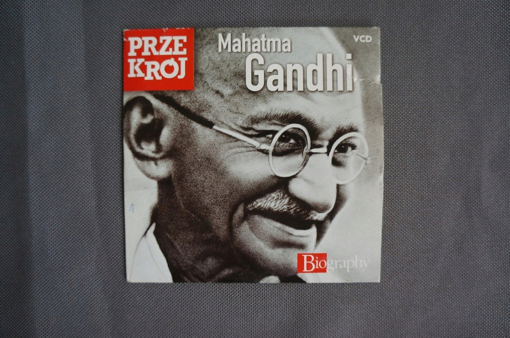 Mahatma Gandhi - biografia - Przekrój - film VCD