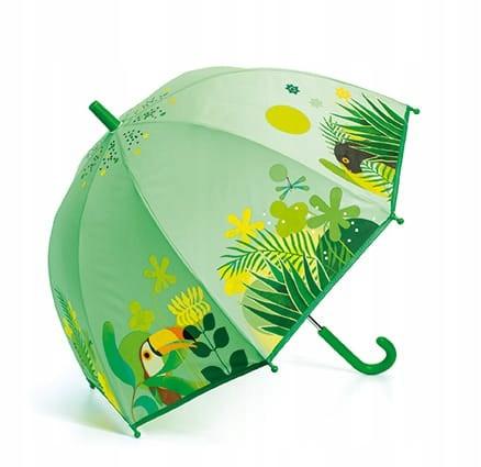 Parasol przeciwdeszczowy Tropikalna dżungla Djeco