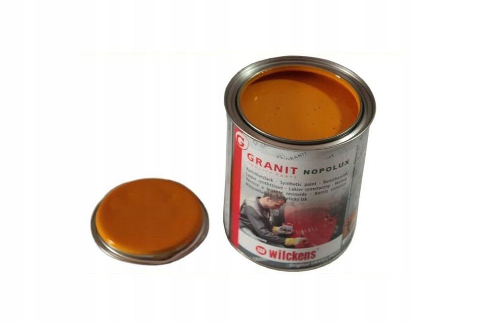 Granit Lakier farba żółty JCB Wilckens Nopolux 1L