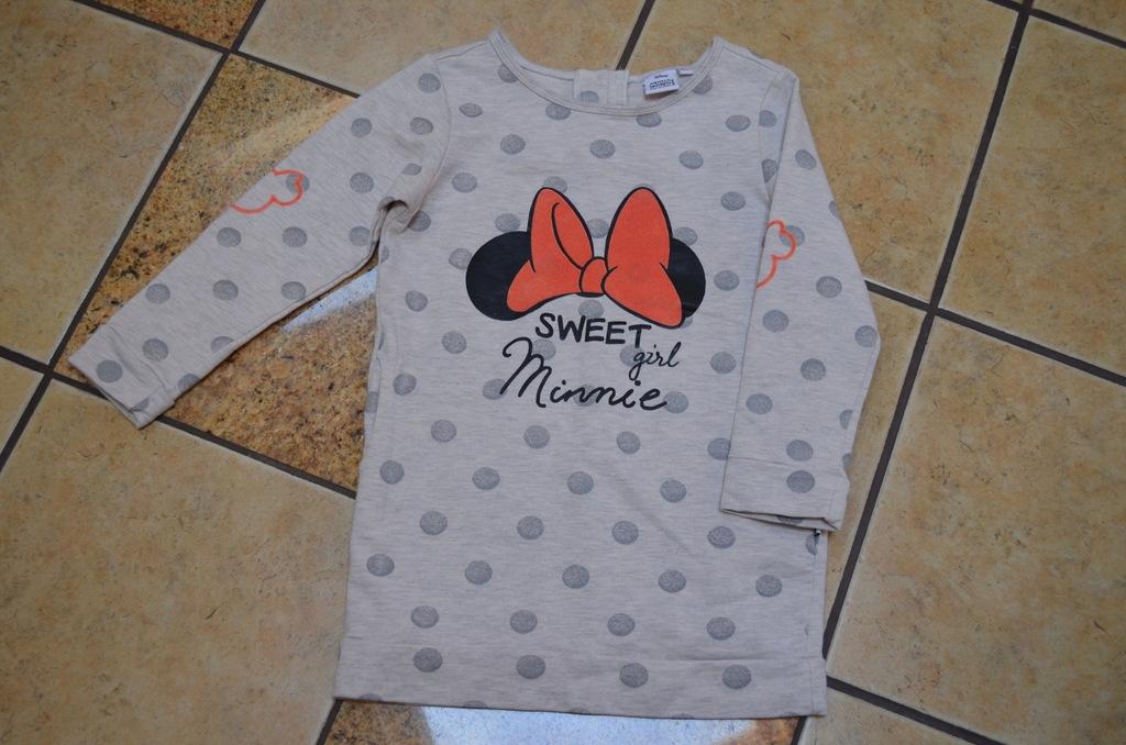 Tunika Minnie Mouse rozm. 116