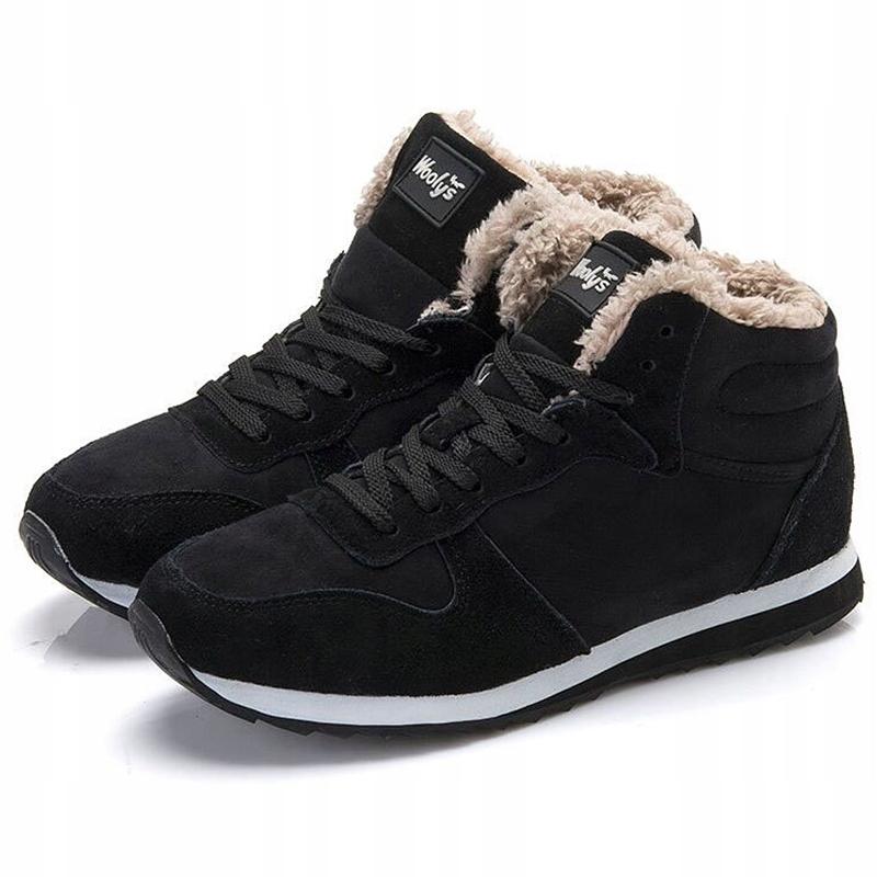 Buty za kostkę adidas ocieplane zimowe brązowe 42 42 23 43