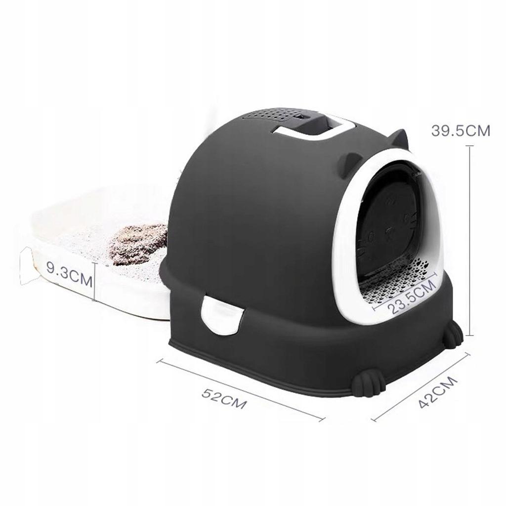 Żwirek dla kota - Czarny
