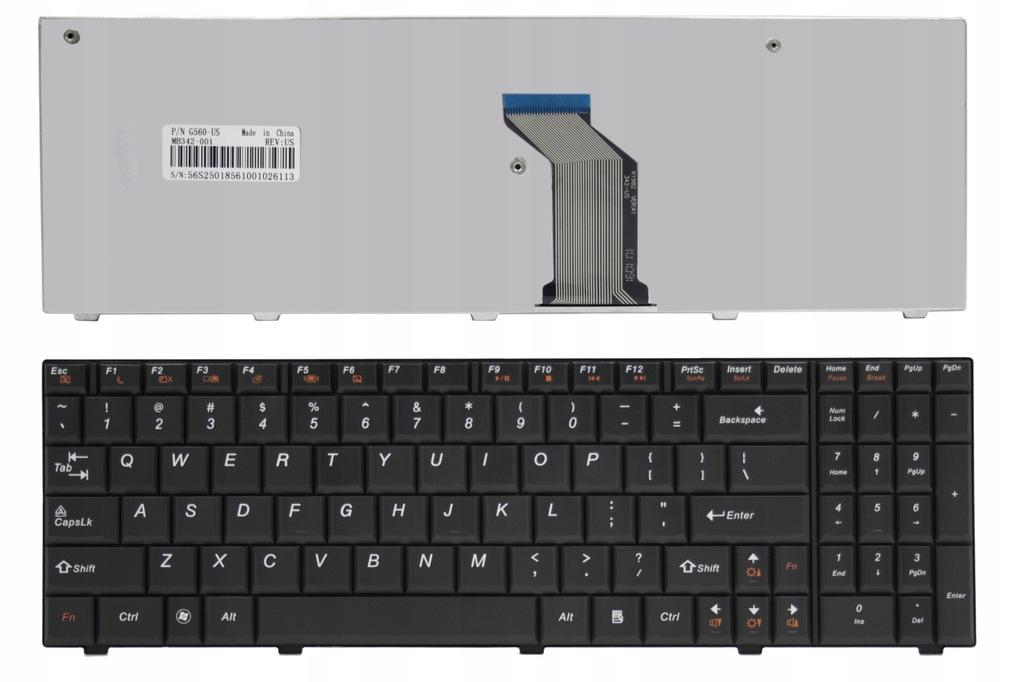 Klawiatura do laptopa Lenovo Ideapad G560 G565 G570 G770