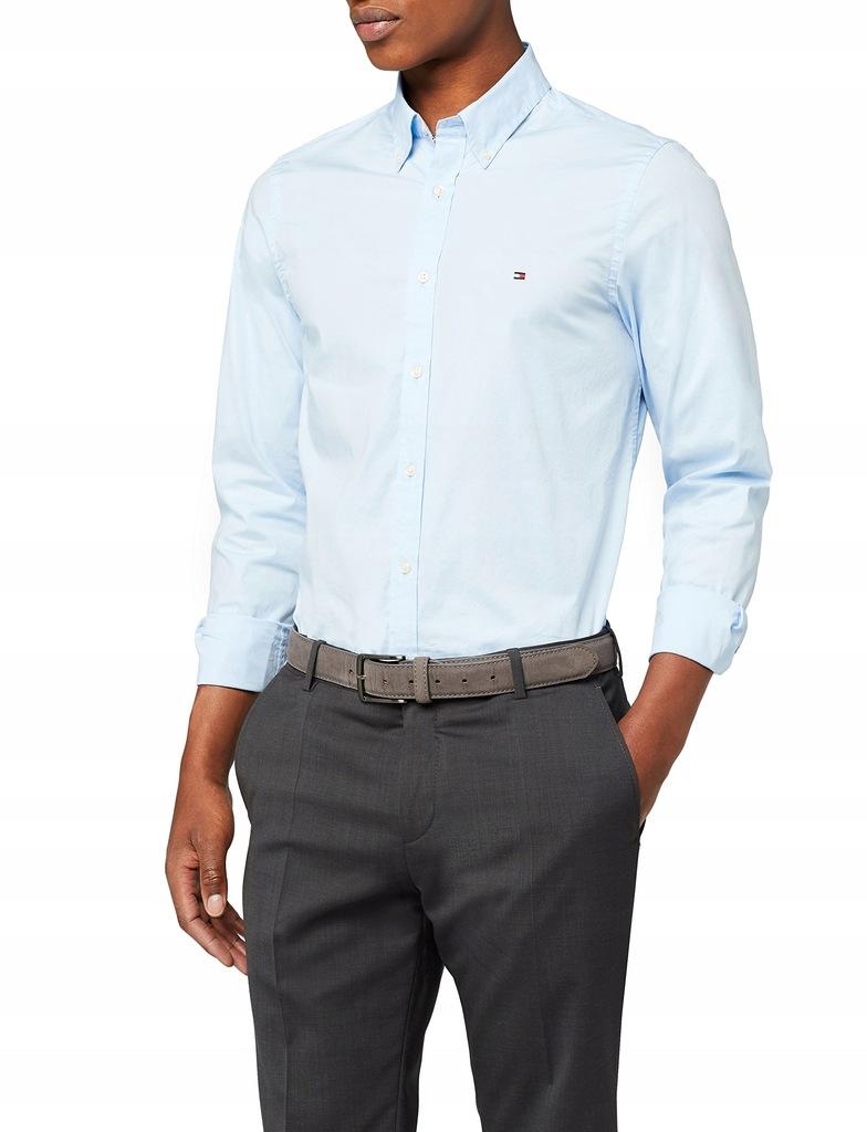 Koszula męska Tommy Hilfiger niebieska rozm. L