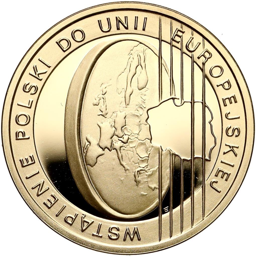 902. 200 zł 2004 Polska w UE - 15,5 g Au.900