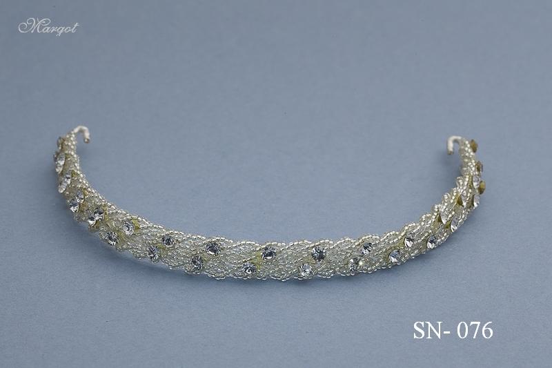 Stroik ślubny SN076 - fryzury ślubnej, głowę