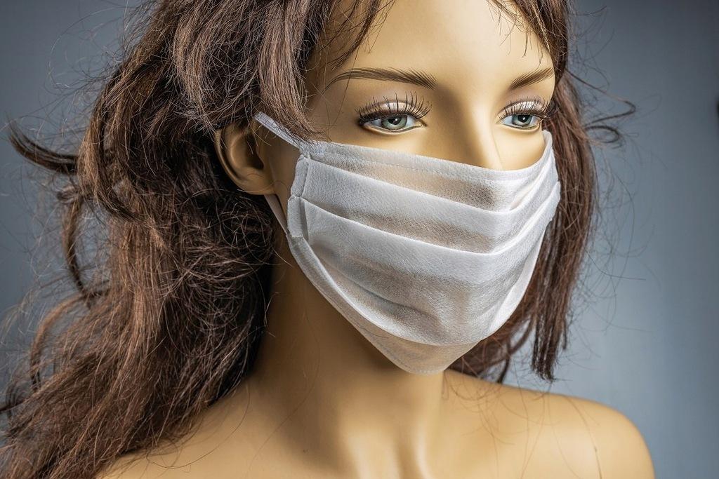 Maska maseczka maseczki na twarz ochronne 1szt