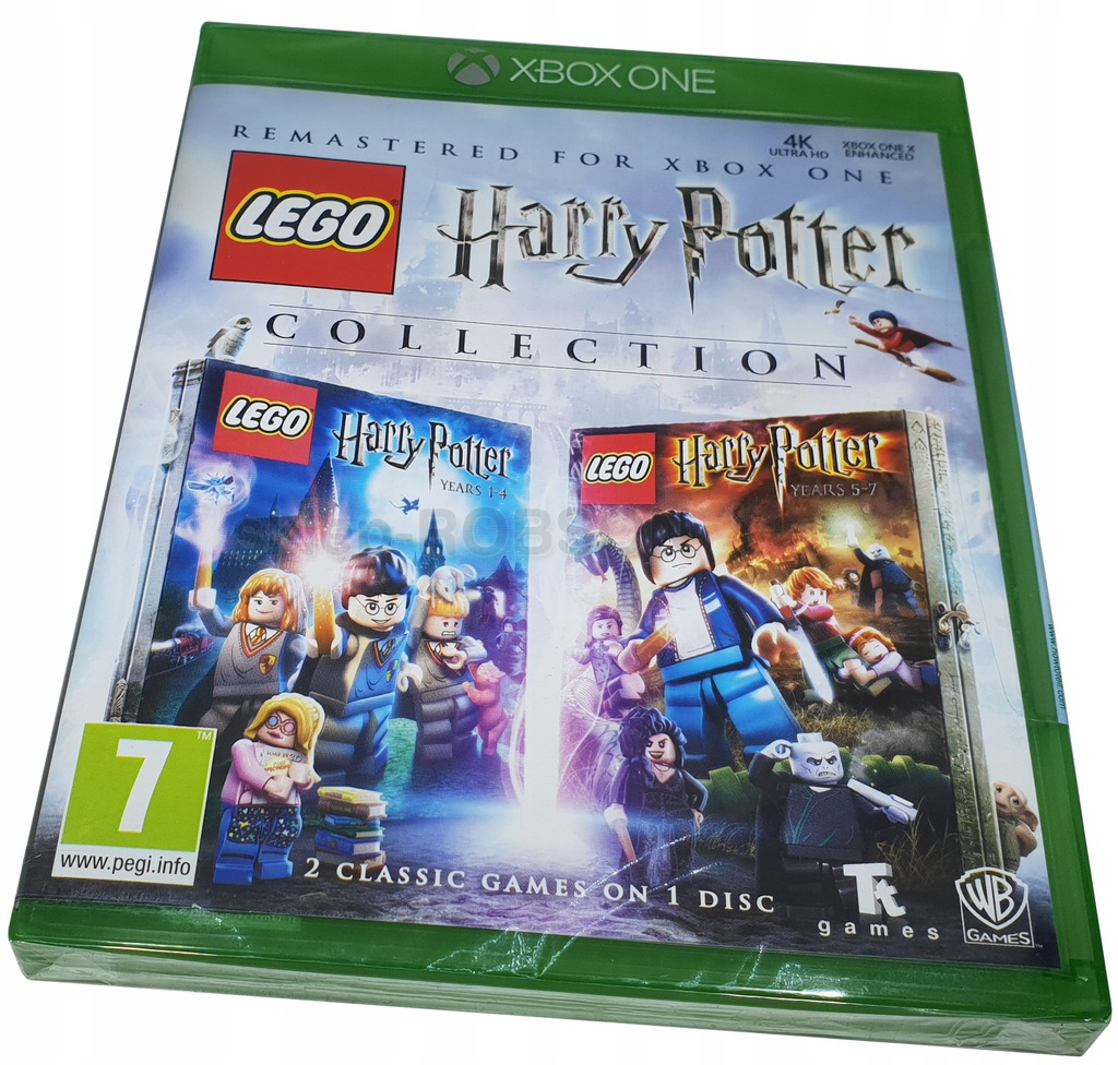 Lego Harry Potter Collection Xbox One Nowa Xone 7686206377 Oficjalne Archiwum Allegro