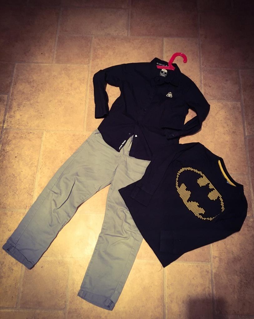 Spodnie , koszula, koszulka - romiar 116-122