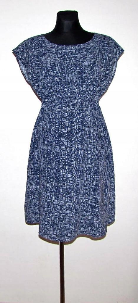 H&M MAMA ciążowa sukienka w groszki r 40