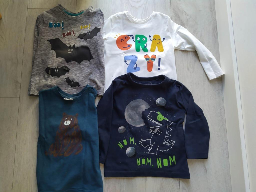 Koszulki Zara mix 4 szt. r. 98 cm